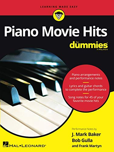 Piano Movie Hits for Dummies - Piano Arrangements with Perfo