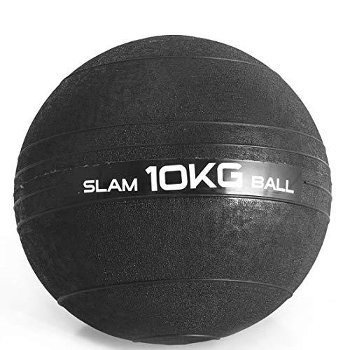 Slam Ball D, 10 kg, LiveUp Sports, Preto