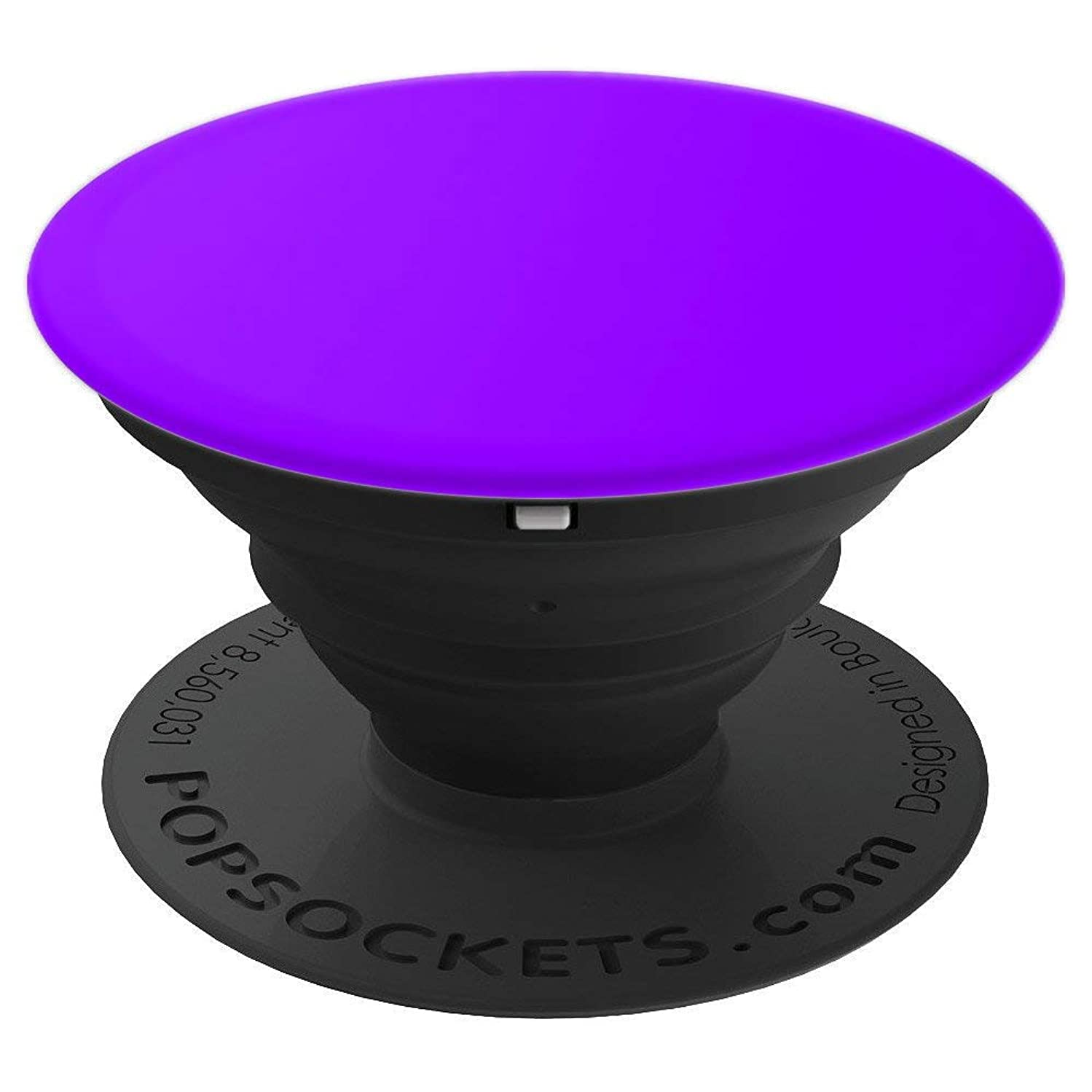 PopSockets Pure Purple - PopSockets Grip and Stand for Phones and Tablets