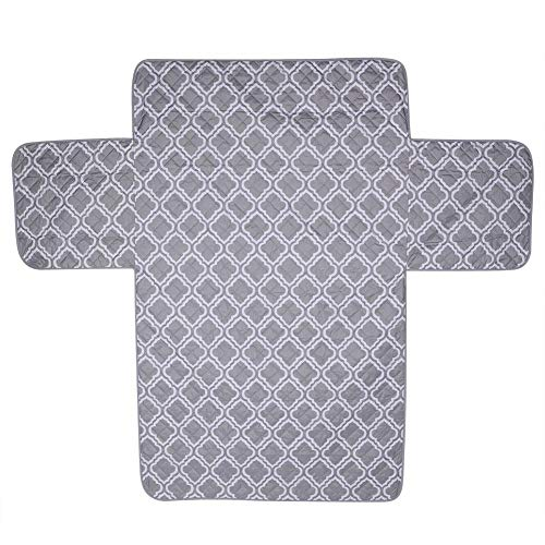 Geschenken voor april Wasbare tweezits bedrukte bankhoes, kussenbeschermer meubelhoes bankhoes, voor woonkamer slaapkamer(Light gray print)