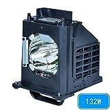 for Mitsubishi 915B403001 WD-60735 WD-60737 WD-73737 WD-73C9 WD-65C9 WD-65735 WD-73735 DLP TV Replacemet Lamp by Molgoc (180days Warranty)