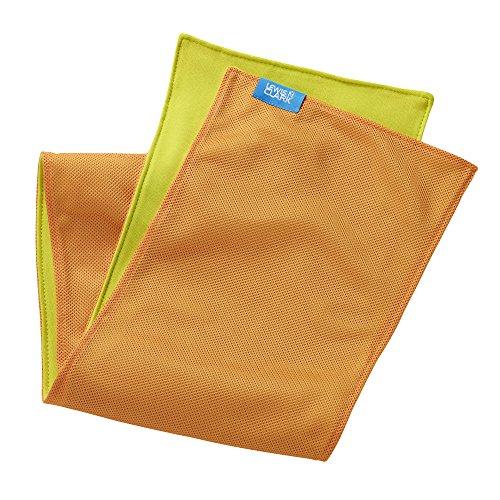 Lewis N. Clark Ice Mate Cool Towel, Orange, One Size