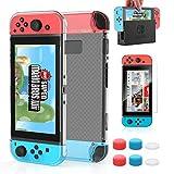 HEYSTOP Carcasa Nintendo Switch, Funda Nintendo Switch con Protector...