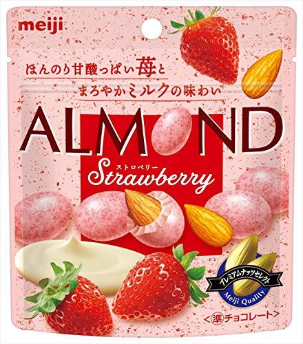 明治『アーモンドチョコレートストロベリー』