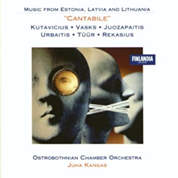 Vasks' 'Cantabile' and Other Baltic Works for String Orchestra Vol. 2