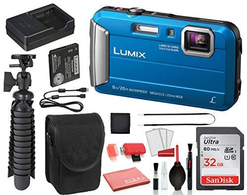 Panasonic Lumix DMC-TS30 Digital Camera (Blue)...