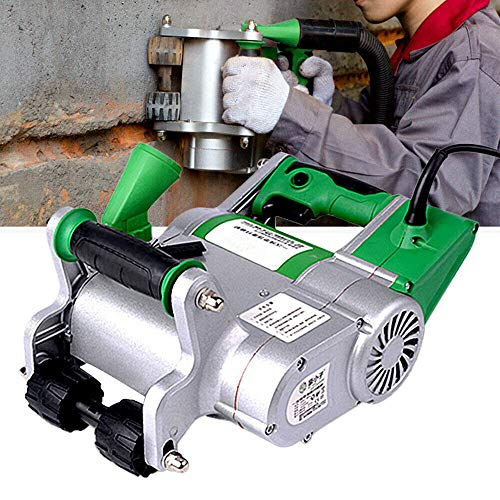 Electric Wall Chaser Machine Concrete Cutter Notcher Wall Groove Cutting Machine Grooving Construction Tool Set 110V 1100W 2000RPM (US STOCK)