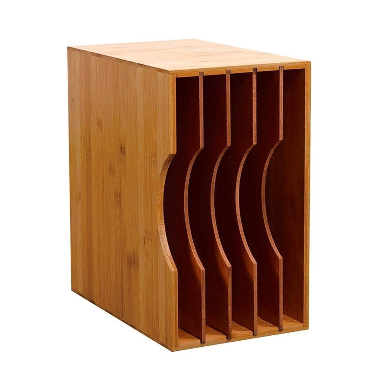 ジュニア湖比較スプリットフォーマット木製LPラック、オフィスラウンジクラブハウスビニールレコードディスプレイスタンド - Msのコーヒーショップアフタヌーンティーミュージックのレコードストレージボックス (Color : Wood color, Size : Storage 50 vinyl records)