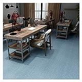 Lihuzmd Afilados de PVC autoadhesivos, pavimentos de PVC tablones Playo Playo Impermeable Pegatinas de Piso Cocina Tile,B