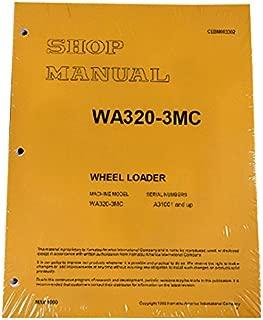 Komatsu WA380-3MC Wheel Loader Workshop Repair Service Manual - Part Number # cebD003302