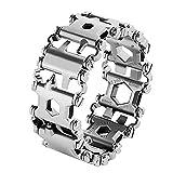 Multifunctional Tool Bracelet 29 In 1 Silver Friendly...