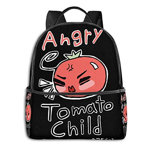 IUBBKI Anime & Angry Tomato Child Hetalia Classic Student School Bag School Cycling Leisure Travel Camping Outdoor Backpack