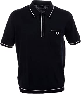 Fred Perry Polo T-Shirt for Men - Navy Blue