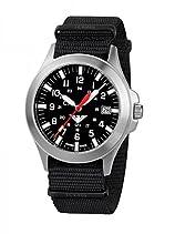 KHS Tactical Watches Platoon C1 KHS.PC1.NB Edelstahl Nato Black