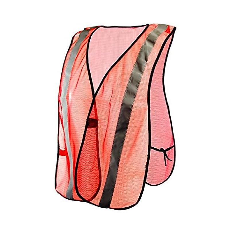Magid Glove & Safety CRV4430-AMZN Wide Knit Mesh High-Visibility Vest, Polyester, Standard, Hi/Vis Orange