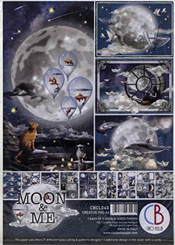 Ciao Bella CBCL040 Moon and Me Notizblock, Papier
