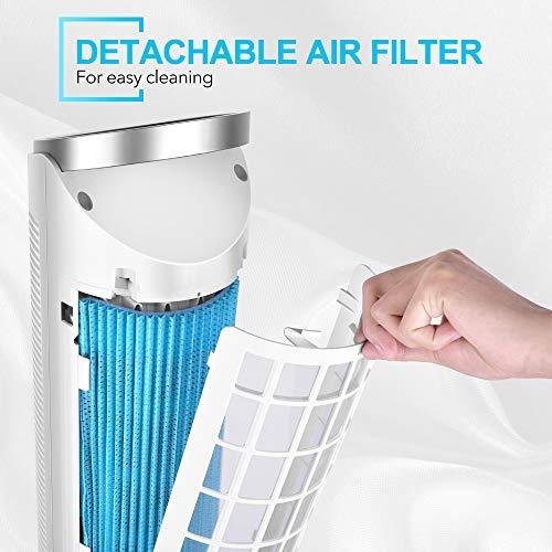 "TRUSTECH 40"" Portable Evaporative Air Cooler Product Image"