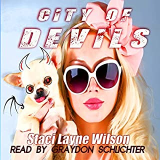 City of Devils audiobook cover art