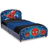 Delta Children Upholstered Twin Bed, Marvel Spider-Man