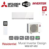 INVERTER DA PARETE DESIGN MSZ EF35 VE2W-MITSUBISHI