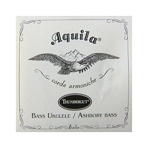 Aquila 69U Bass ukulele corde Thundergut–g, D, A, e, B, per 5corde basso Kala U & Ashbory Bass
