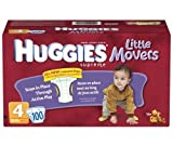 Kimberly Clark 10518.0 Huggies Diaper Ultra Trim, Size 4 (Pack of 12)