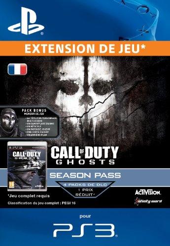 Call of Duty - Ghosts - 'Season Pass' [Code Jeu PSN PS3 - Compte français]