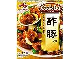 クックドゥ 酢豚用 豚肉と野菜の甘酢あんかけ 箱140g