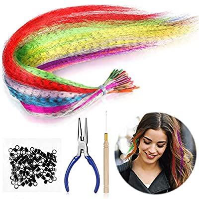167 Pieces Feather Hair