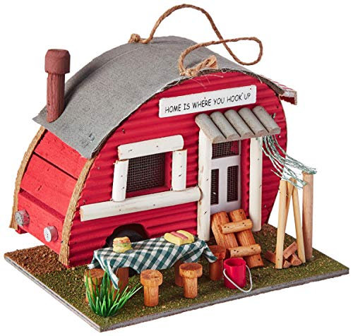 Eastwind Gifts 12503 Vintage Trailer Birdhouse (Renewed)
