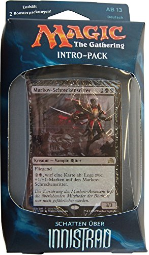 Schatten über Innistrad Intro Pack - deutsch - MtG Deck Magic the Gathering MtG Deck, Intro Pack:Vampirischer Durst