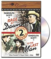 Rage at Dawn & To the Last Man [DVD]