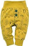 Pinokio - Secret Forest - Leggings mit elastischer Bund Jungen Unisex Baby Kinder Hosen mit Druck 95% Baumwolle Jogginghose Haremshose Gelb 56 62 68 74 80 86 92 98 cm (92 cm, Gelb)
