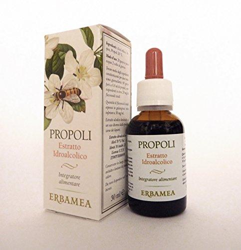 PROPOLI ESTRATTO IDROALCOLICO 30 ml. Antibiotico naturale, raffreddore