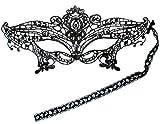 Consejos para Carnaval máscara de Carnaval Veneciano para la seducción, Sexy máscara de Encaje Negro para Disfraz y Fiesta