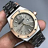 WAVFCSE Brandladies Rose Gold und Silber Quarzuhr 33mm Größe Luminous Top-Qualität Edelstahl Royal Oak Frauen Uhren AAA