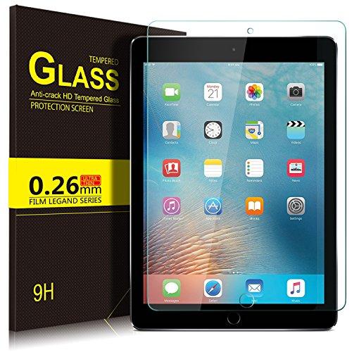 Apple ipad 9.7 2018 ガラスフィルム YOCCO ipad 9.7 2018フィルム ipad 9.7 インチ 強化ガラス (2018年新型) 9.7インチiPad 9.7 液晶保護フィルム 高透過率 防爆裂 気泡ゼロ 指紋防止 硬度9H 画面保護&指紋防止シートApple 新 9.7インチ 第6世代iPad 9.7 inch (2018) / iPad Air2 ガラスフィルム 2.5D 第5世代 iPad 9.7 2017とも適応