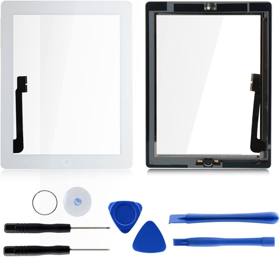 ? Tongyin shopping Front Panel Glass Screen Button Home for with Japan Maker New iPad 4
