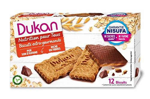 DUKAN - Biscotti di crusca d'avena extra golosi