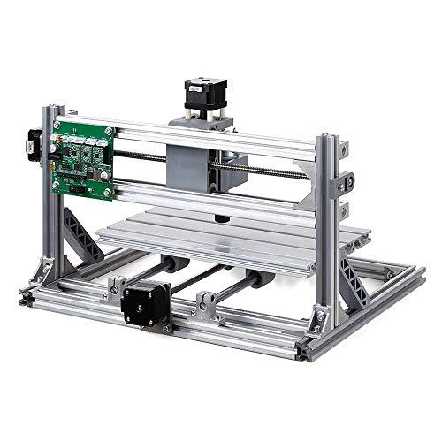 3D imprimante Kits CNC Routeur de sculpture sur bois de fraisage Machine de gravure, hors ligne contrôleur, plaque de mise à niveau de la surface de construction Alimentation Volume 300 × Construire 1