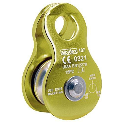 ALPIDEX Seilrolle Umlenkrolle 20 kN - geeignet für...