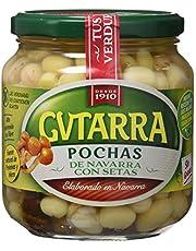 Gvtarra Pochas Cocida con Setas Verdura - Paquete de 6 x 400 gr - Total: 2400 gr