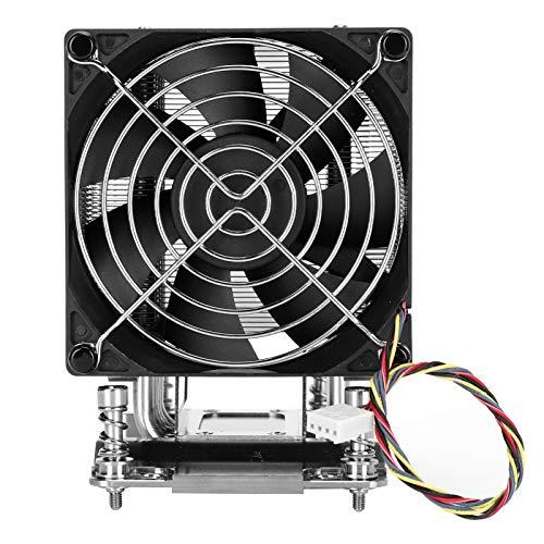 Ventilador del disipador de Calor de la CPU, Sistema de enfriamiento de la CPU para los procesadores de la Serie AMD EPYC 7000, Suministros de computadora del radiador del Ventilador de refrigeración