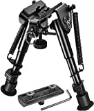 CVLIFE 6-9 Inches Bipod with Bipod Mount Adapter