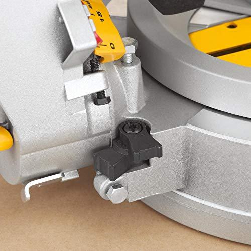 DeWalt Paneelsäge 1675W DWS780 inkl. Zubehör – Mit 305×30 mm HM-Sägeblatt ideal für den Innenausbau – Hohe Schnittkapazität & LED Schnittlinien Anzeige - 8