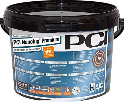 PCI Augsburg GmbH 3011/0 Nanofug Fugenmörtel, Schwarz