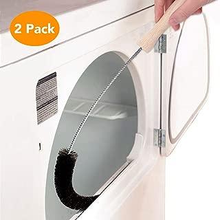 McoMce Dryer Lint Brush, Long Flexible Dryer Lint Cleaner, Dryer Vent Cleaner Brush and Refrigerator Coil Brush, Clothes Dryer Vent Cleaner Kit Fire Prevention Exhaust