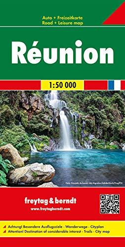 Réunion, Autokarte 1:50.000: Toeristische wegenkaart 1:50 000