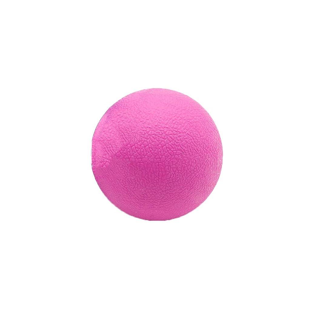 またはどちらか突き出す土器Tyou ロングホッケー ボール ストレッチ リリース マッサージボール 足部 マッサージボール 背中 筋肉 トレーニングボール ピンク