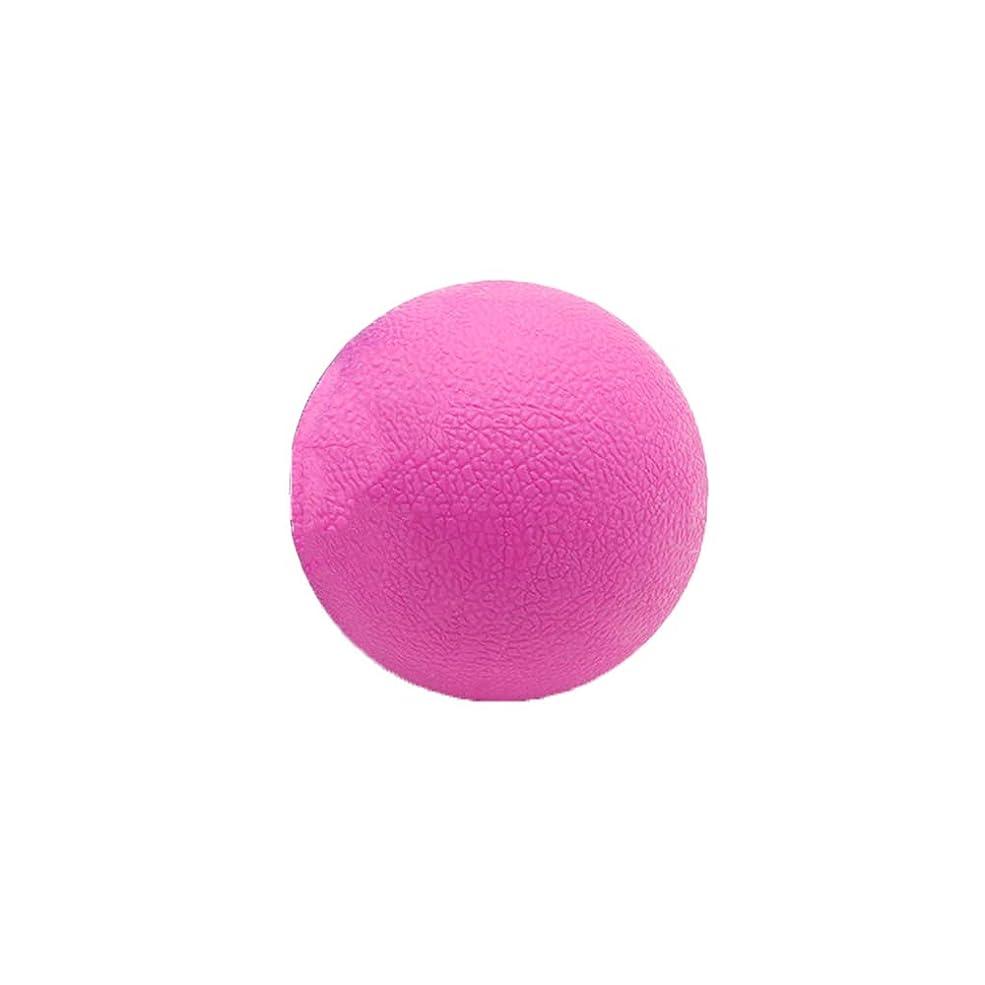 承認病んでいる行進Tyou ロングホッケー ボール ストレッチ リリース マッサージボール 足部 マッサージボール 背中 筋肉 トレーニングボール ピンク
